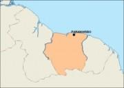 surinam_blankmap vector map