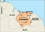 surinam_countrymap vector map