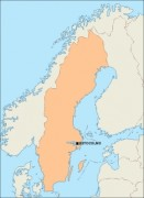 sweden_blankmap vector map