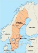 sweden_countrymap vector map