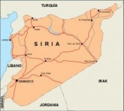 syria_countrymap vector map