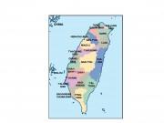 taiwan powerpoint map