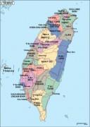 taiwan_political vector map