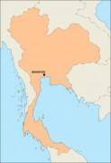thailand_blankmap vector map