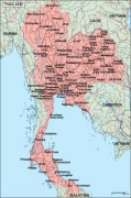 thailand_geography vector map