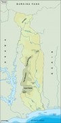 togo_topographical vector map