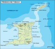 vector map trinidad y tobago_topographical