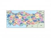 turkey powerpoint map