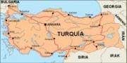 turkey_countrymap vector map