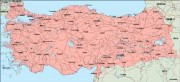 turkey_geography vector map