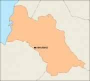 turkmenistan_blankmap vector map
