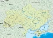 ukraine_topographical vector map