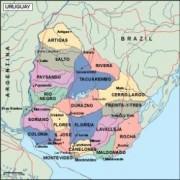 uruguay_political vector map