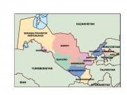 uzbekistan powerpoint map