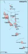 vanuatu_geography vector map