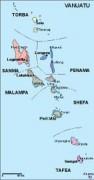 vanuatu_political vector map