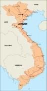 vietnam_countrymap vector map