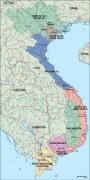 vietnam_political vector map