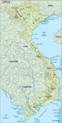 vietnam_topographical vector map