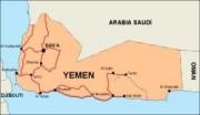 yemen_countrymap vector map